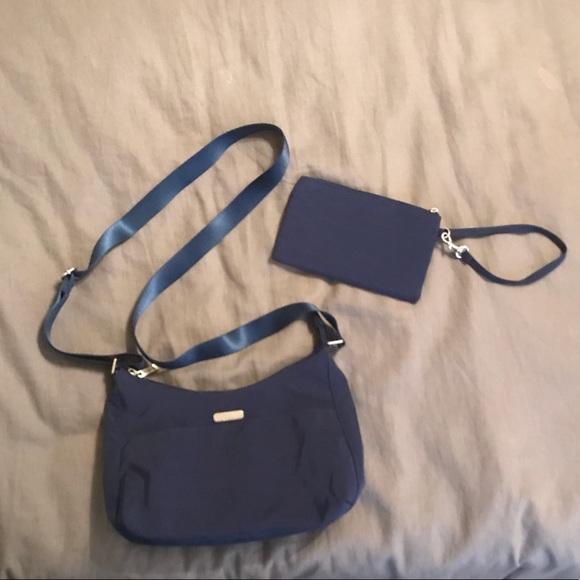 Baggallini Handbags - Baggallini harmony blue medium hobo tote d799ddfc86217
